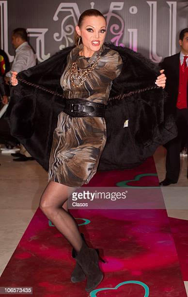 Carmen Campuzano participates of a fashion show at The Gallery on November 3 2010 in mexico City Mexico 9photo by Guillermo...
