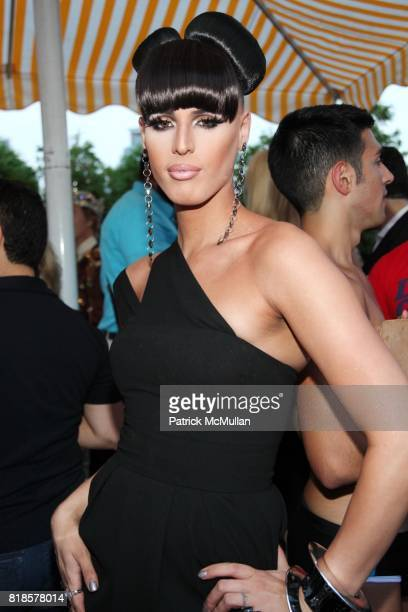 ccfa815680d0 Carmen Carrera attends 2010 GLAAD Manhattan at 230 Fifth Rooftop on August  3 2010 in New