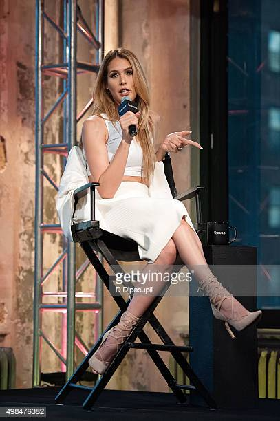 Carmen Carrera attends AOL BUILD Presents Carmen Carrera at AOL Studios In New York on November 23 2015 in New York City