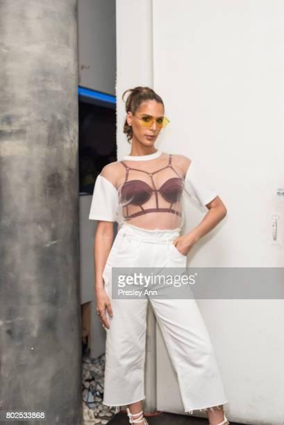 286b8c15fdd0 Carmen Carrera attends MAC Celebrates the Winner of the CFDA/Vogue Fashion  Fund Capsule Collection