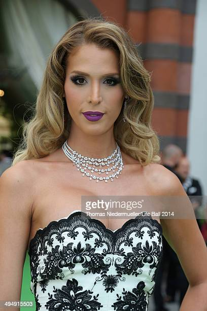 Carmen Carrera attends the AIDS Solidarity Gala 2014 at Hofburg Vienna on May 31 2014 in Vienna Austria