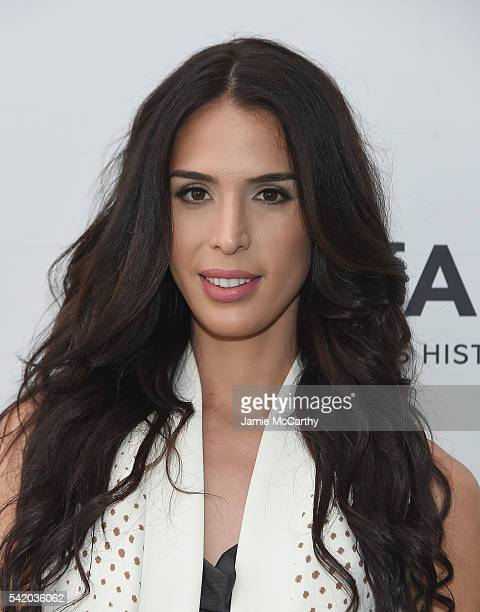 Carmen Carrera attends the amfAR generationCure Solstice 2016 on June 21 2016 in New York City