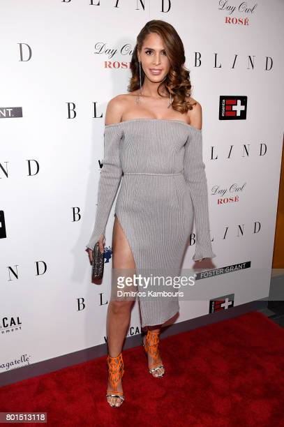 Carmen Carrera attends the 'Blind' premiere at Landmark Sunshine Cinema on June 26 2017 in New York City