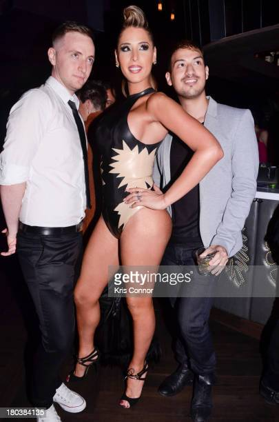 Carmen Carrera attends The Blonds MercedesBenz Fashion Week Spring 2014 After Party at No 8 on September 11 2013 in New York City