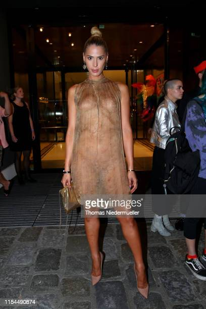 Carmen Carrera attends the Life Ball 2019 welcome cocktail at Le Meridien Hotel on June 07, 2019 in Vienna, Austria. After 26 years the charity event...
