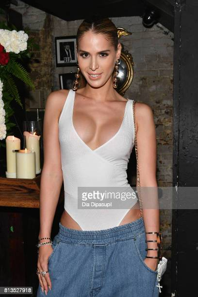 Carmen Carrera attends the Willy Chavarria Show NYFW Men's July 2017 on July 12 2017 in New York City