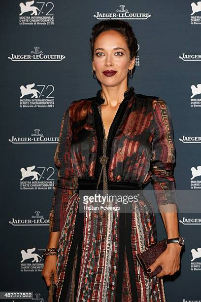Carmen Chaplin attends the JaegerLeCoultre gala event celebrating 10 years of partnership with La Mostra Internazionale d'Arte Cinematografica di...