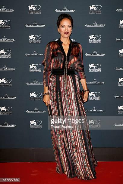 Carmen Chaplin attends the JaegerLeCoultre gala event celebrating 10 years of partnership with La Mostra Internazionale d'Arte Cinematografica di...