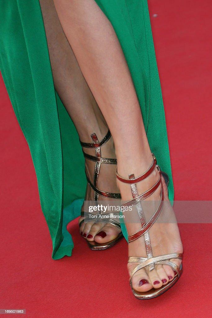 Carmen Chaplin attends the Premiere of 'La Venus A La Fourrure' at The 66th Annual Cannes Film Festival on May 25, 2013 in Cannes, France.