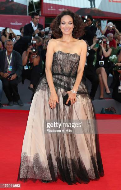 Carmen Chaplin attends the 'Under The Skin' Premiere during the 70th Venice International Film Festival at Sala Grande on September 3 2013 in Venice...