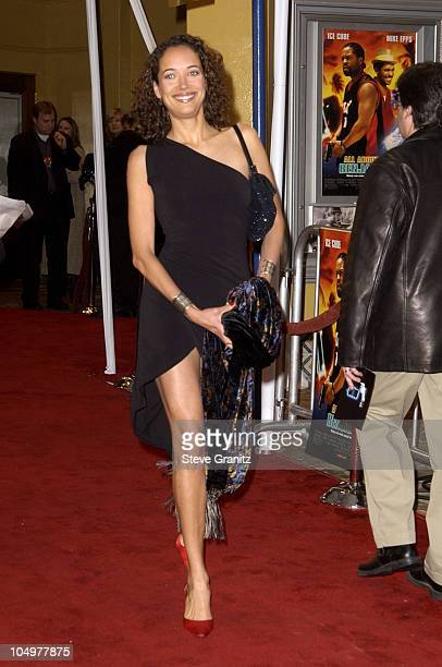 Carmen Chaplin during 'All About The Benjamins' Westwood Premiere at Mann Village Theatre in Westwood California United States