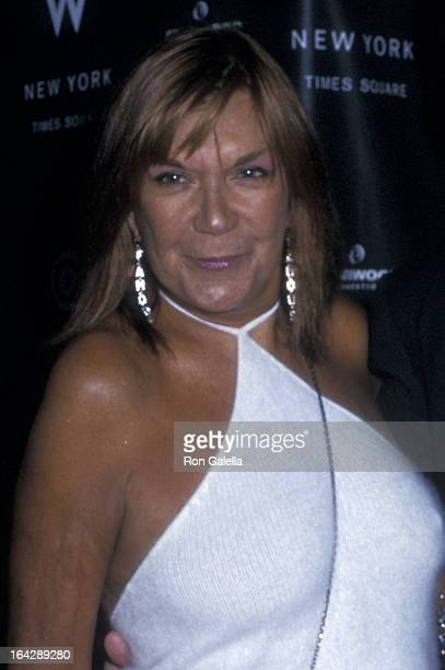 Carmen D'Alessio attends the grand opening of W Hotel on February 12 2002 in New York City