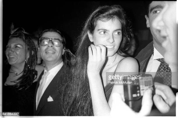 Carmen D'Alessio Bob Colacello Mary Richardson friend and Andy Warhol shooting next to Patrick at Studio 54 1980