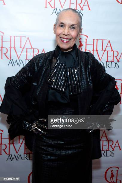 Carmen de Lavallade attends the 2018 Chita Rivera Awards at NYU Skirball Center on May 20 2018 in New York City