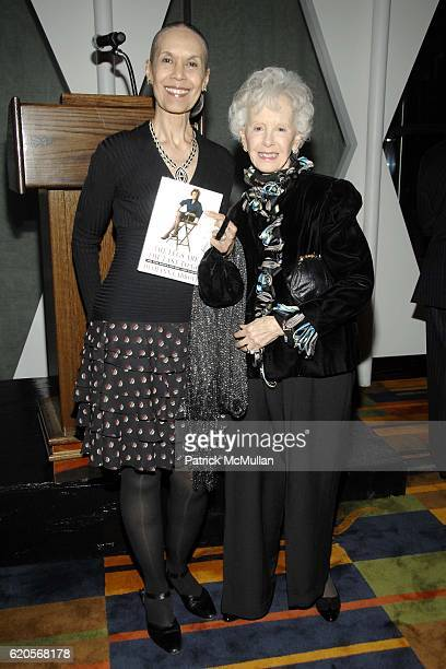 Carmen deLavallade and Amy Greene attend DIAHANN CARROLL Book Party hosted by SUSAN FALESHILL at Le Cirque on September 30 2008 in New York City