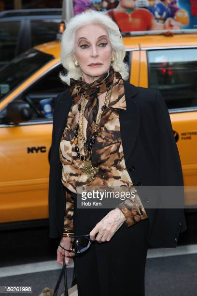 Carmen Dell'Orefice attends The Cosmo 100 Power Lunch at Michael's Restaurant on November 12 2012 in New York City