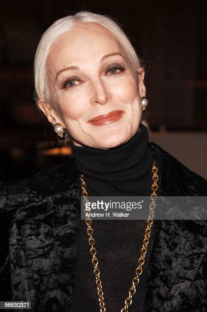 Carmen DellOrefice attends the opening of Lou Reed NY photography exhibit at the Gallery at Hermes on January 19 2006 in New York City