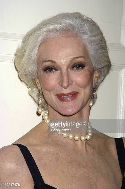 Carmen Dell'Orefice during The 60th Anniversary Ball of the Year Gala for The Boys Towns of Italy at The Waldorf Astoria Hotel in New York City New...