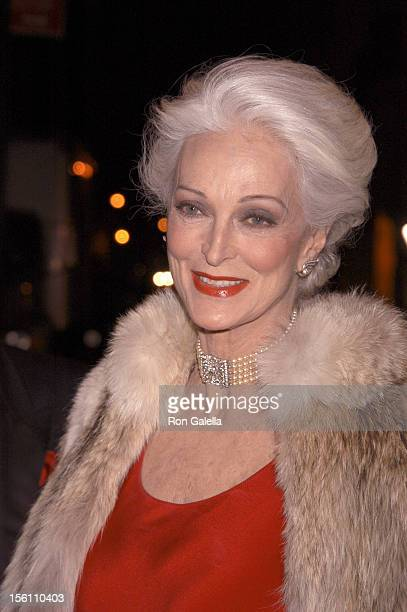 Carmen Del'Orefice during The Eighth Red Ball at Pierre Hotel in New York City New York United States