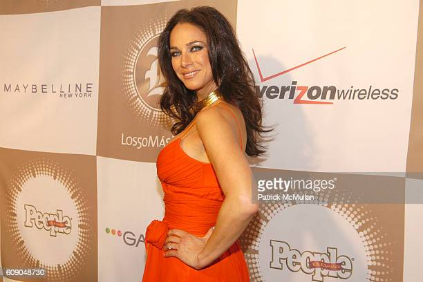 Carmen Dominicci attends PEOPLE EN ESPANOL'S 50 Most Beautiful StarStudded Event at Splashlight Studios on May 16 2007 in New York City