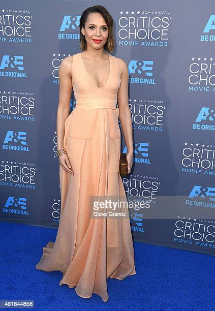 Carmen Ejogo arrives at the 20th Annual Critics' Choice Movie Awards at Hollywood Palladium on January 15 2015 in Los Angeles California