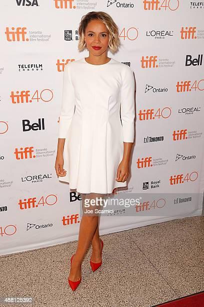 Carmen Ejogo attends 2015 Toronto International Film Festival 'Born To Be Blue' Premiere at Winter Garden Theatre on September 13 2015 in Toronto...
