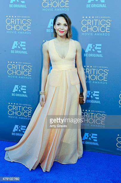 Carmen Ejogo attends the 20th Annual Critics' Choice Movie Awards on January 15 2015 in Los Angeles California