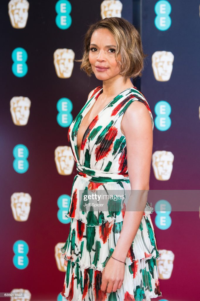 Carmen Ejogo attends the 70th EE British Academy Film Awards (BAFTA) at Royal Albert Hall on February 12, 2017 in London, England.