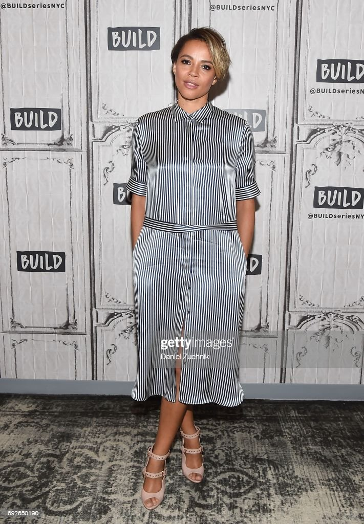 Carmen Ejogo attends the Build Series to discuss the new film 'It Comes at Night' at Build Studio on June 5, 2017 in New York City.