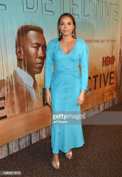 Carmen Ejogo attends the HBO premiere of True Detective Season 3 at DGA Theater on January 10 2019 in Los Angeles California