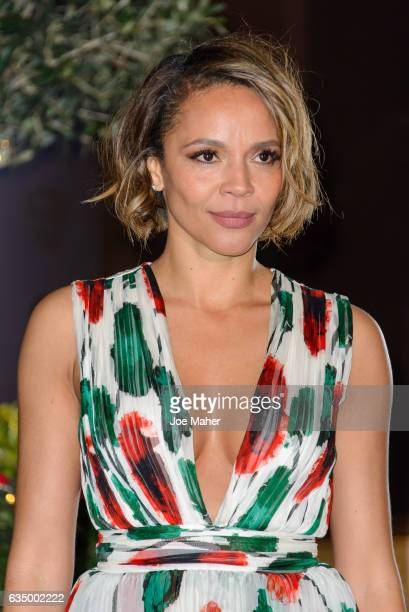 Carmen Ejogo attends the official after party for the 70th EE British Academy Film Awards at The Grosvenor House Hotel on February 12 2017 in London...