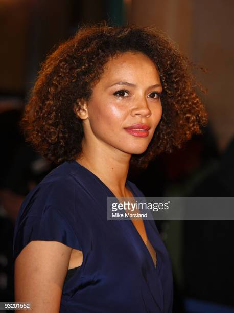 Carmen Ejogo attends the UK Film Premiere of 'Me Orson Welles' at Vue West End on November 18 2009 in London England