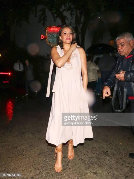 Carmen Ejogo is seen on January 07 2019 in Los Angeles California