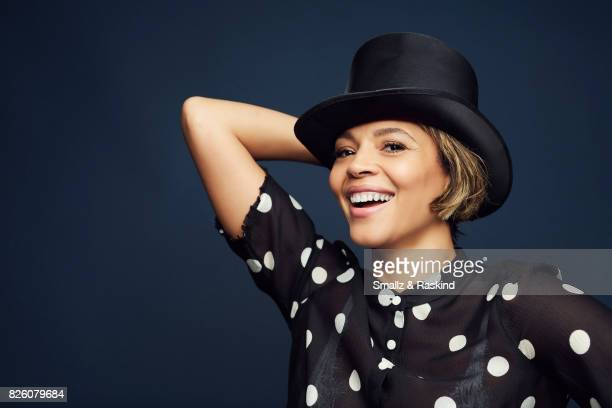 Carmen Ejogo of Starz's 'The Girlfriend Experience' poses for a portrait during the 2017 Summer Television Critics Association Press Tour at The...