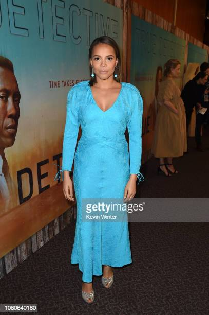 Carmen Ejogoattends the premiere of HBO's 'True Detective' Season 3 at Directors Guild Of America on January 10 2019 in Los Angeles California