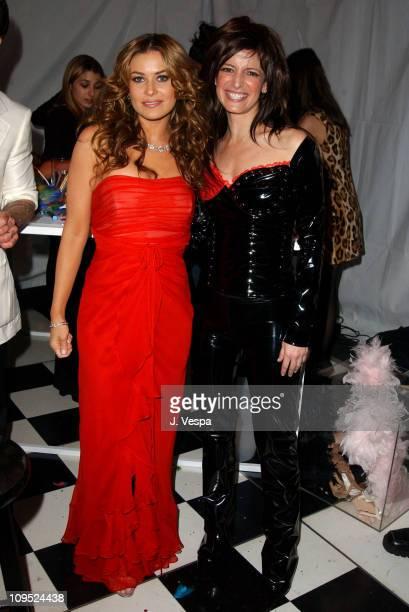 Carmen Electra and Cindi Leive Glamour EditorinChief