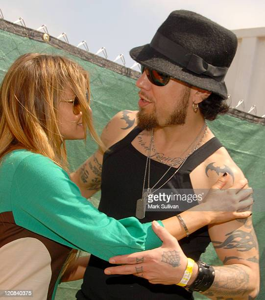 Carmen Electra and Dave Navarro during 'A Time For Heroes' Sponsored by Disney to Benefit the Elizabeth Glaser Pediatric AIDS Foundation Inside at...
