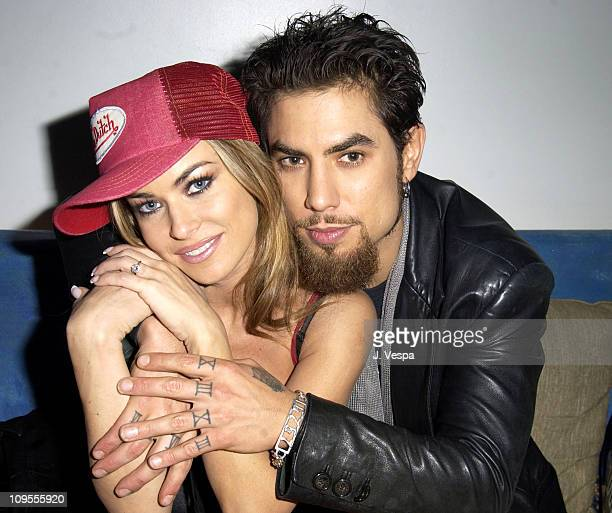 Carmen Electra and Dave Navarro during Playstation 2 Presents The PS2 Tour Camp Freddy with Surprise Guests AfterParty at Joseph's at Joseph's in...