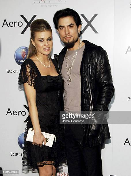 "Carmen Electra and Dave Navarro during SAAB Introduces Their New Concept Vehicle The ""Aero X"" and Announces Their Philanthropic Partnership With..."