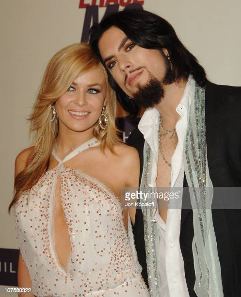 "Carmen Electra and husband Dave Navarro during 12th Annual Race to Erase MS Themed ""Rock & Royalty to Erase MS"" - Arrivals at The Westin Century..."