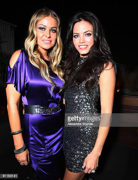 Carmen Electra and Jenna Dewan both wearing Alice and Olivia at a special event for Alice and Olivia by Stacey Bendet hosted by Neiman Marcus at The...