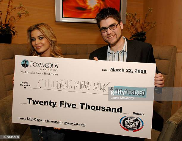 Carmen Electra and Scott Kritz Online Editor of FHM Magazine
