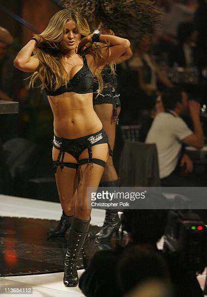 Carmen Electra and the Bombshell Babes during First Annual Spike TV's Guys Choice Show at Radford Studios in Los Angeles California United States