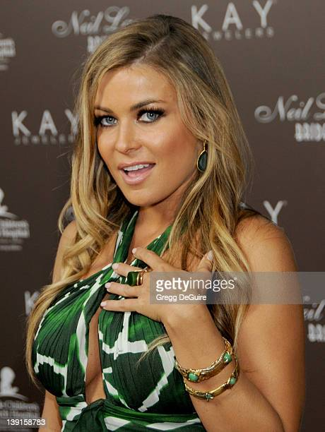 Carmen Electra arrives at jewelry designer Neil Lane's debut of his new Bridal Collection with Kay Jewelers at a starstudded Hollywood launch party...