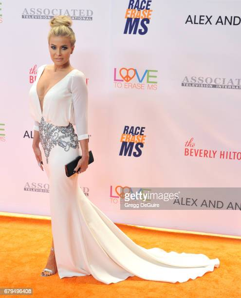 Carmen Electra arrives at the 24th Annual Race To Erase MS Gala at The Beverly Hilton Hotel on May 5 2017 in Beverly Hills California