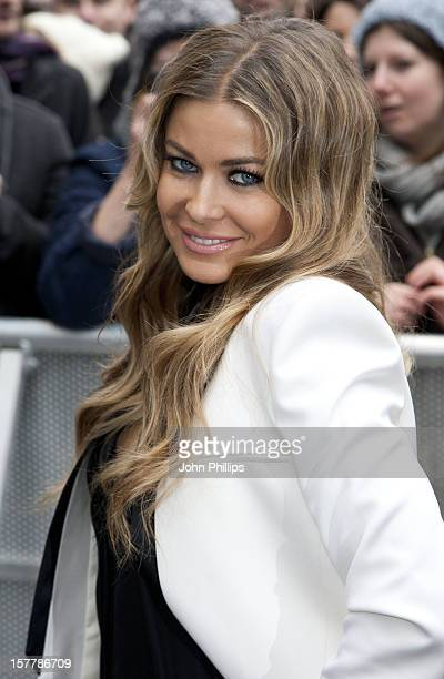 Carmen Electra Arrives At The First Auditions In London For Britains Got Talent