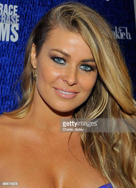 Carmen Electra arrives at the Jose Cuervo Platino Penthouse with 944 Magazine at Andaz Hotel on June 24 2009 in West Hollywood California