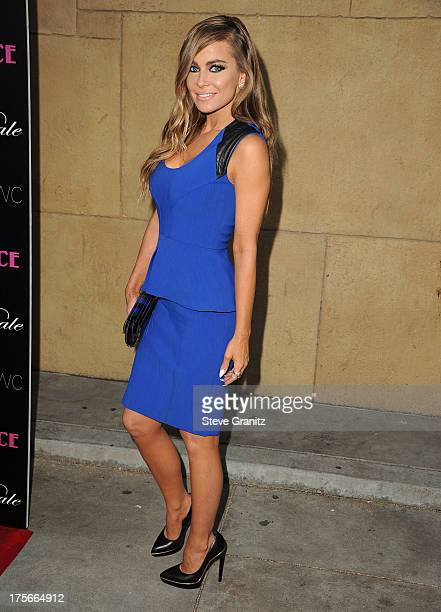 Carmen Electra arrives at the 'Lovelace' Los Angeles Premiere at the Egyptian Theatre on August 5 2013 in Hollywood California