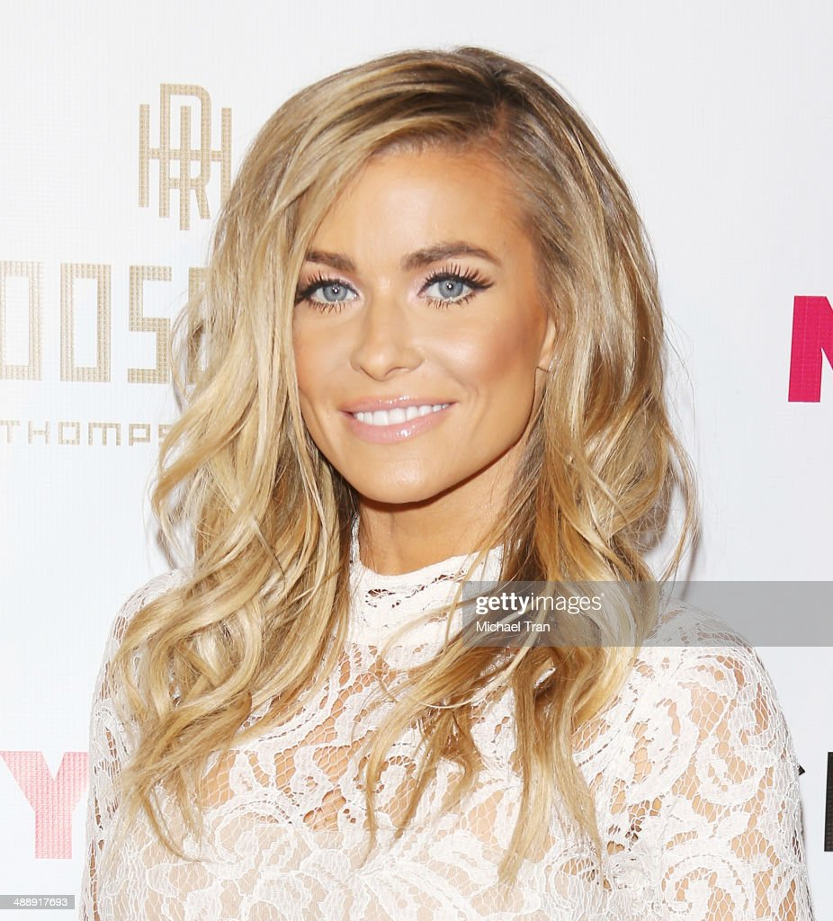 Carmen Electra arrives at the Nylon Magazine May Young Hollywood Issue Party held at Tropicana Bar at The Hollywood Rooselvelt Hotel on May 8, 2014 in Hollywood, California.