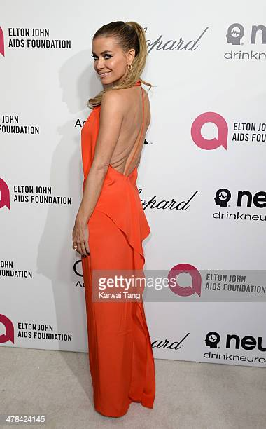 Carmen Electra arrives for the 22nd Annual Elton John AIDS Foundation's Oscar Viewing Party held at West Hollywood Park on March 2 2014 in West...